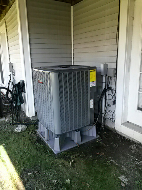 Pawling, NY - Amana heatpump tune up.