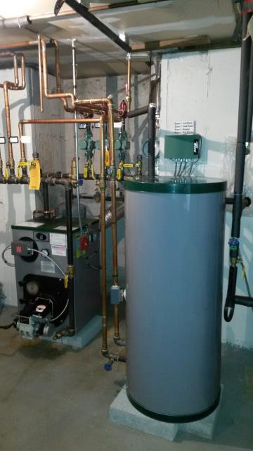 Carmel Hamlet, NY - Peerless Oil Boiler, with Indirect Water Heater, Heating Tune-up.