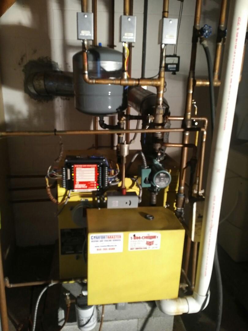 Fishkill, NY - Oil boiler tune up/replace circulator pump