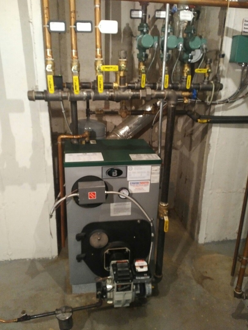 Carmel Hamlet, NY - Oil boiler tune up and inspection