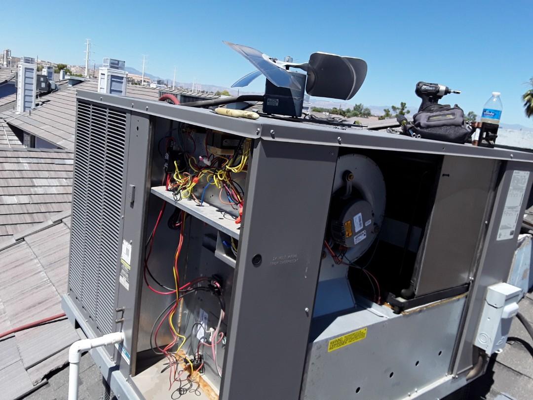 Las Vegas, NV - Rheem heatpump package service and maintenance!!!