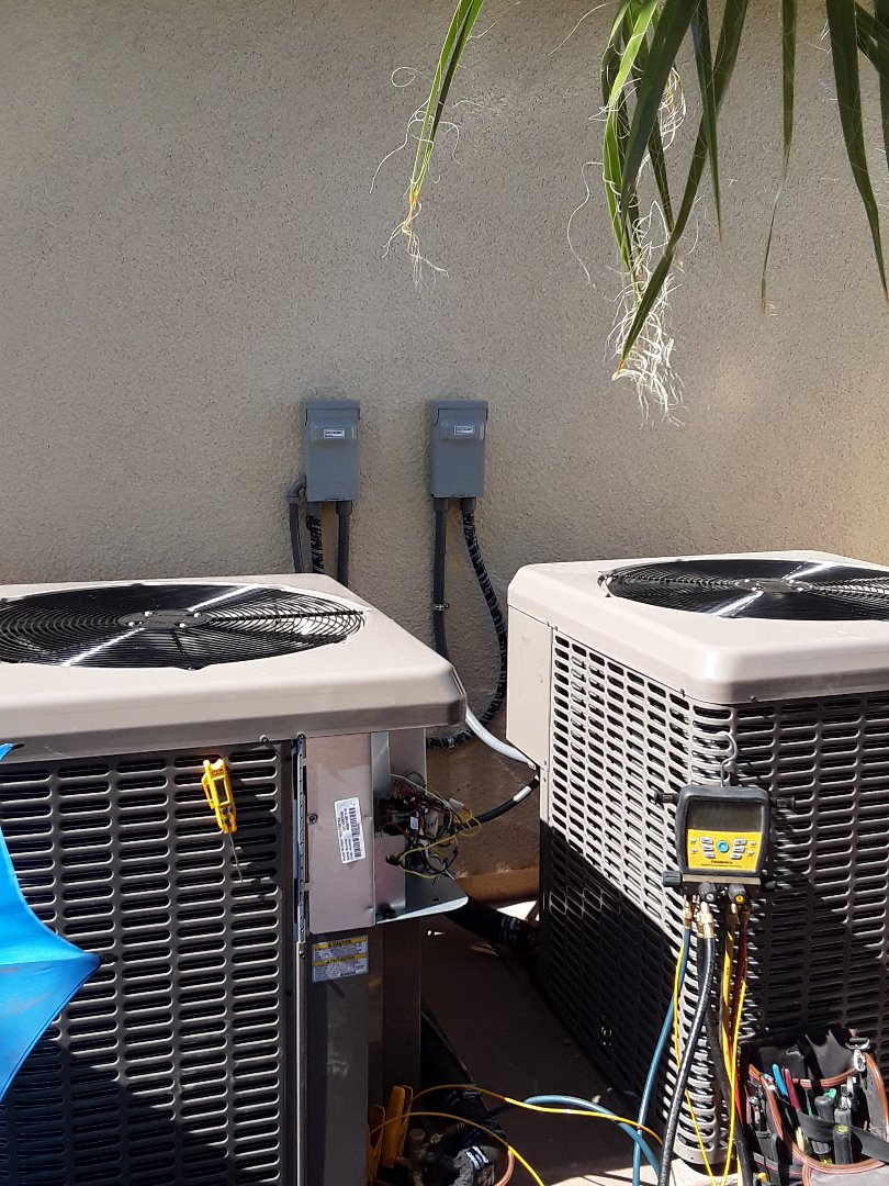 Las Vegas, NV - A/C system replacement