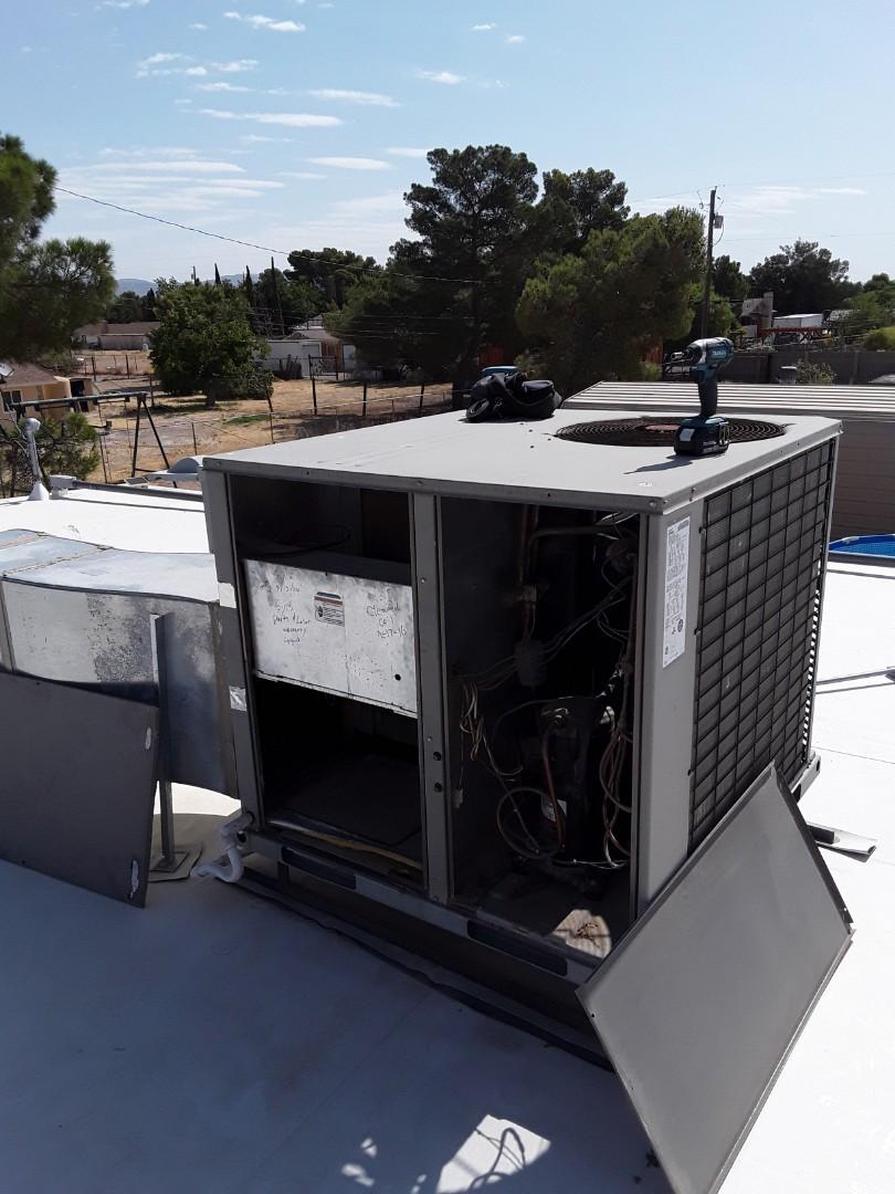 York heat pump package system maintenance.