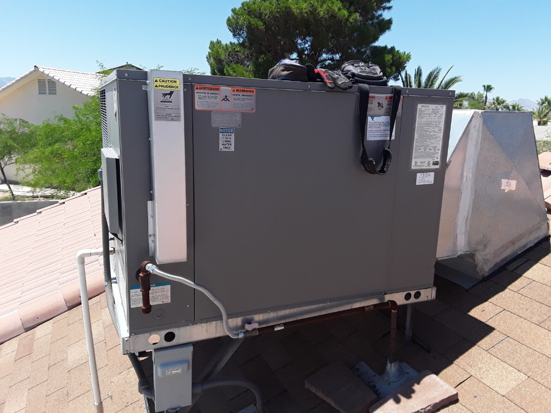 Rheem gas package ac system tune up