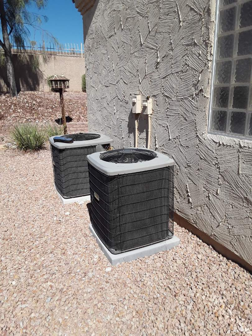 Las Vegas, NV - Performed cooling and heating maintenance on york split systems in spring valley