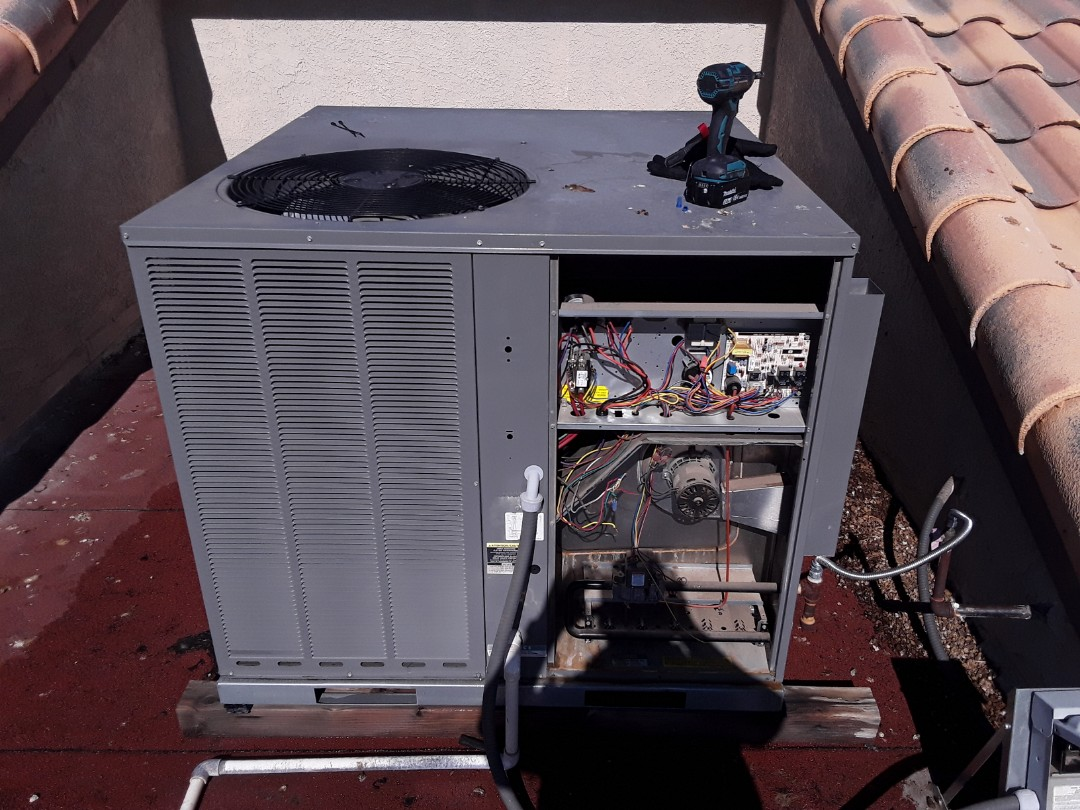 Las Vegas, NV - Rheem gas package system tune-up!!