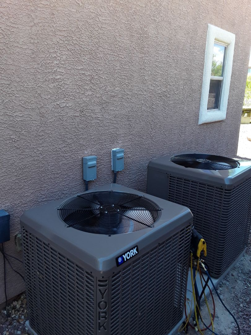 North Las Vegas, NV - AC system replacement. York units