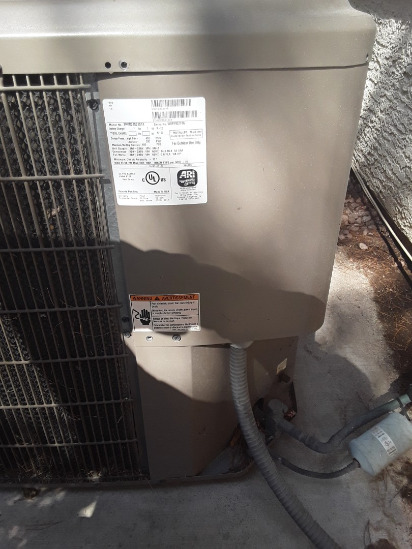 Las Vegas, NV - Performed cooling maintenance on 2 to york heat pump. Replaced capacitor.