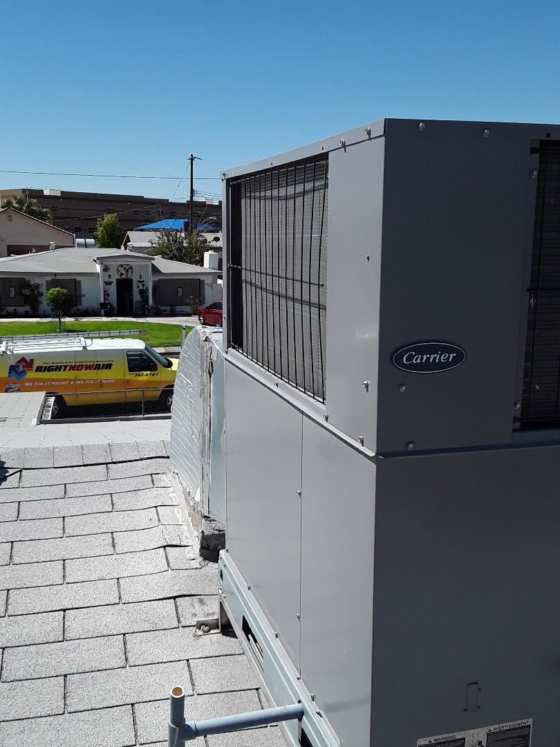 Las Vegas, NV - AC tune up carrier unit