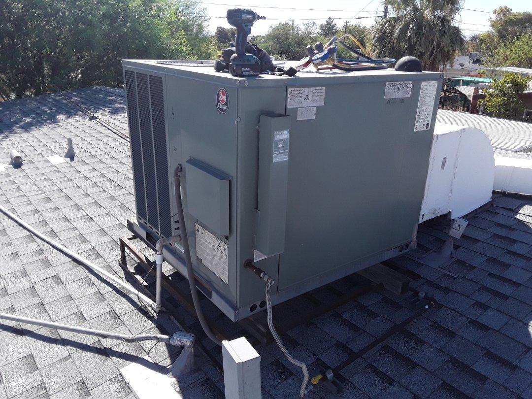 Las Vegas, NV - Rheem gaspack system tune up