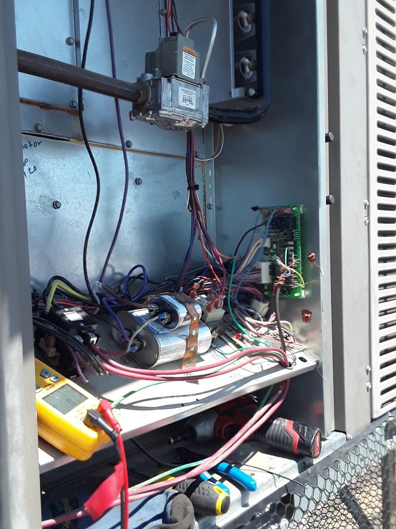 Las Vegas, NV - AC repair package system York unit