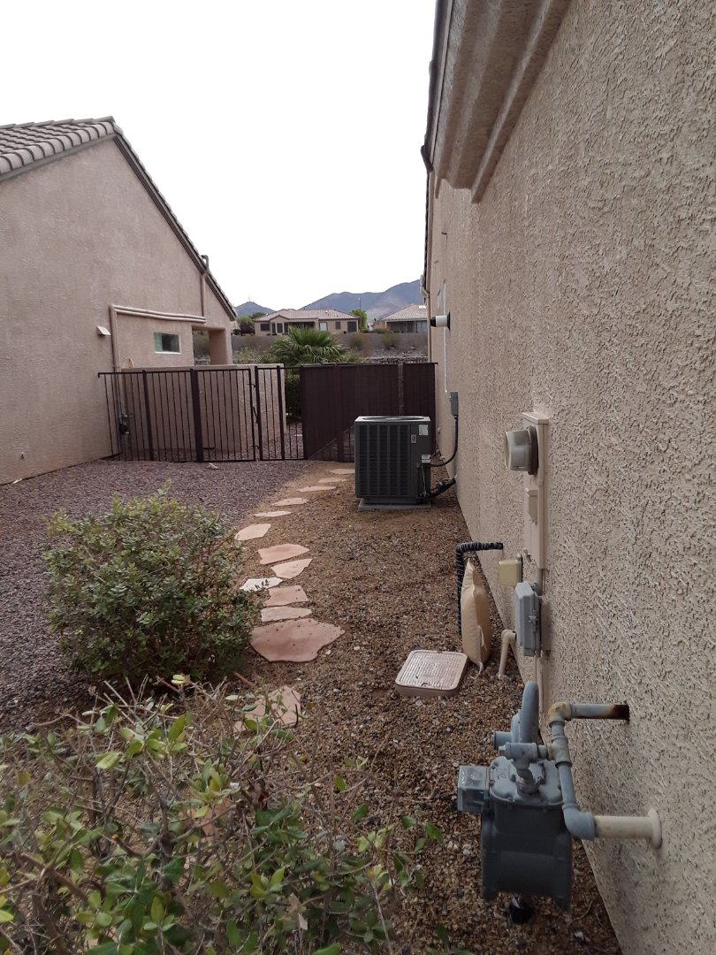 Henderson, NV - Performed heating and cooling tune up on rheem air conditioner in sun city anthem.
