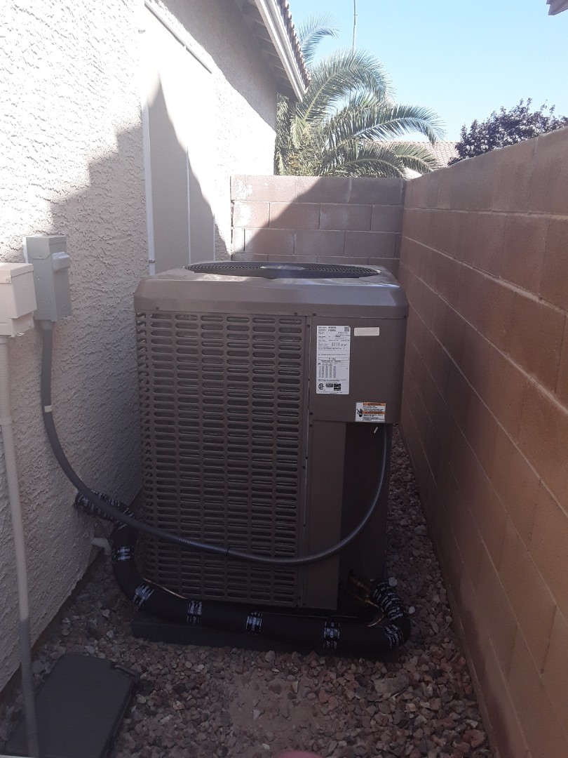AC and furnace replacement York 16 seer