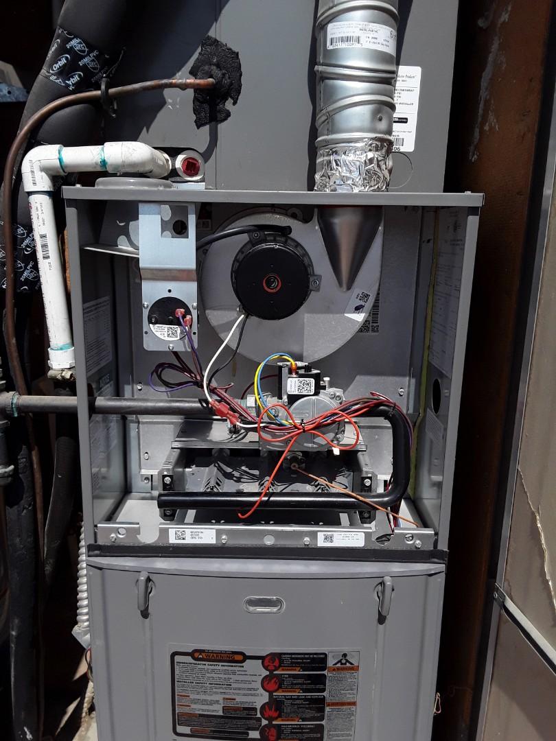 Rheem heating tune-up!