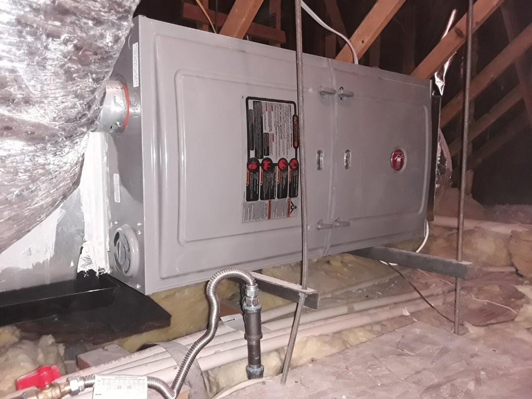 Rheem Ac duct repair