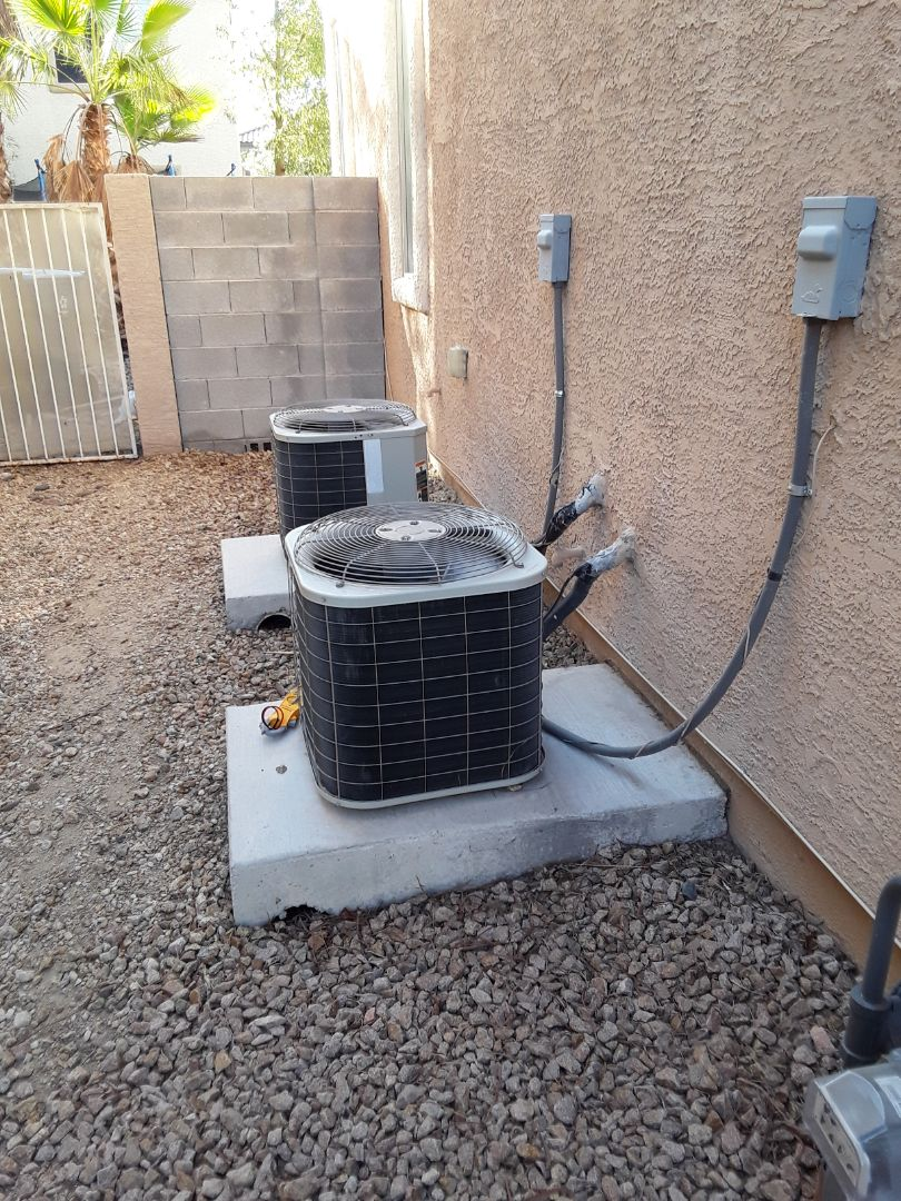 North Las Vegas, NV - System not cooling properly due to duct work issues