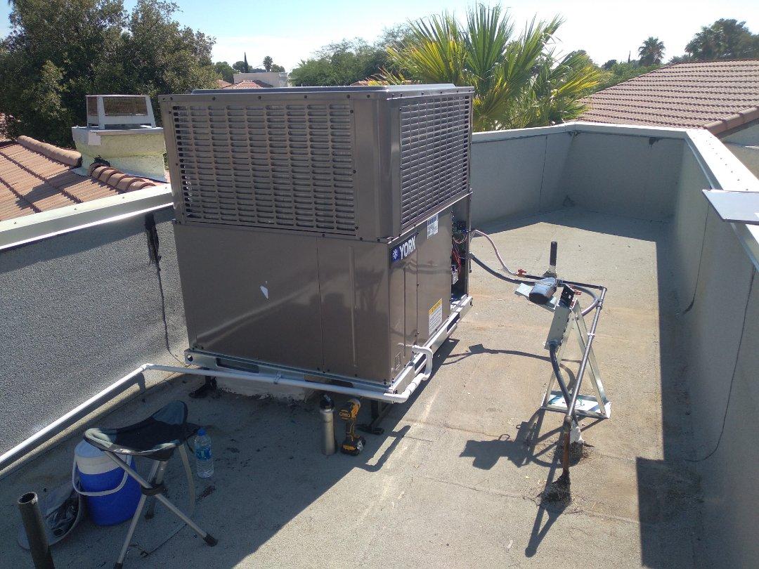 North Las Vegas, NV - York package unit install
