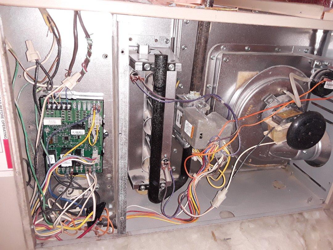 North Las Vegas, NV - Control board repair ducane air handler