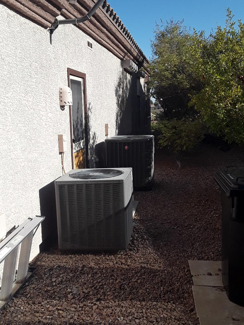 Henderson, NV - Furnace and AC service and tune up. Rheem sun city Anthem