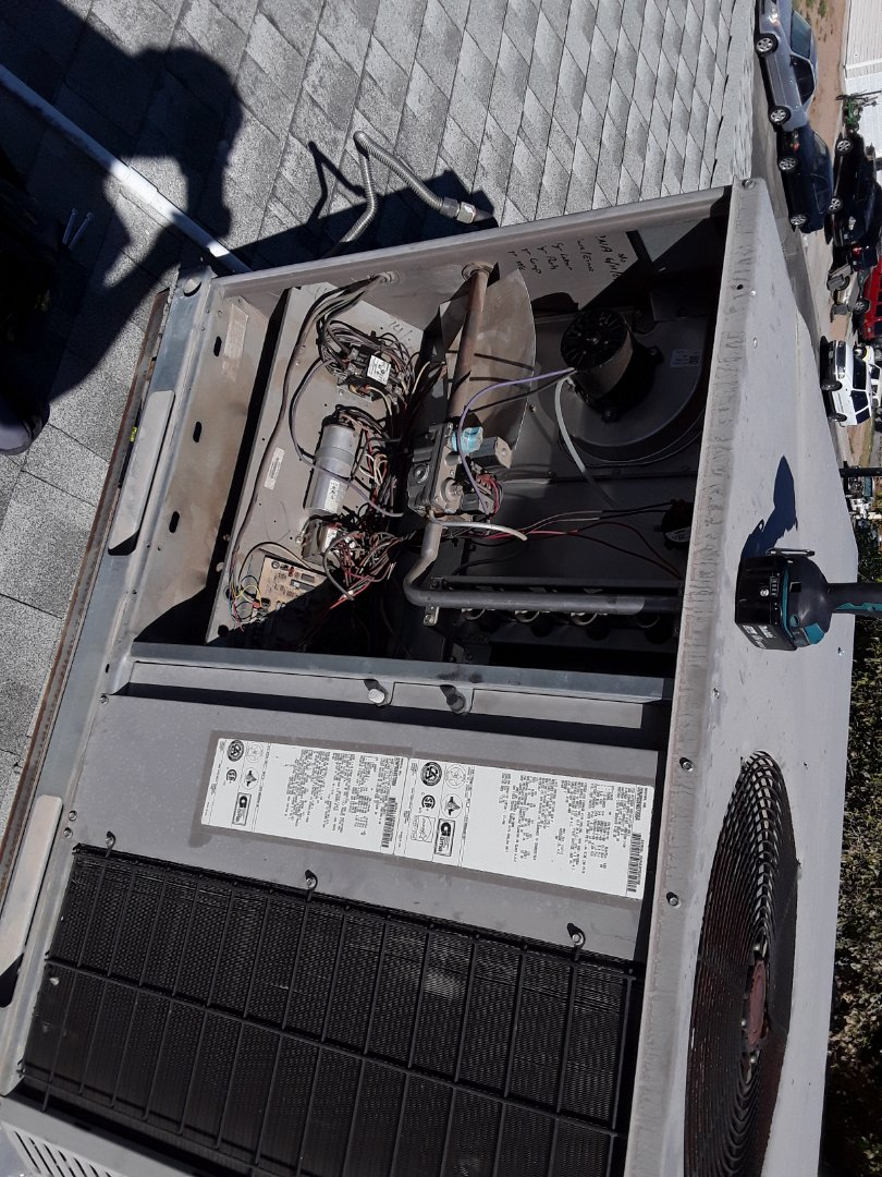Las Vegas, NV - York gas package system heating tune-up