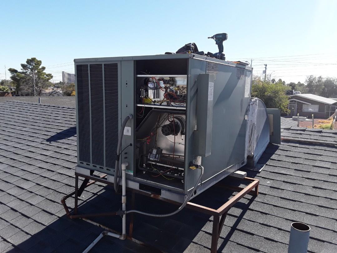 Las Vegas, NV - Rheem gas package system heating tune-up!