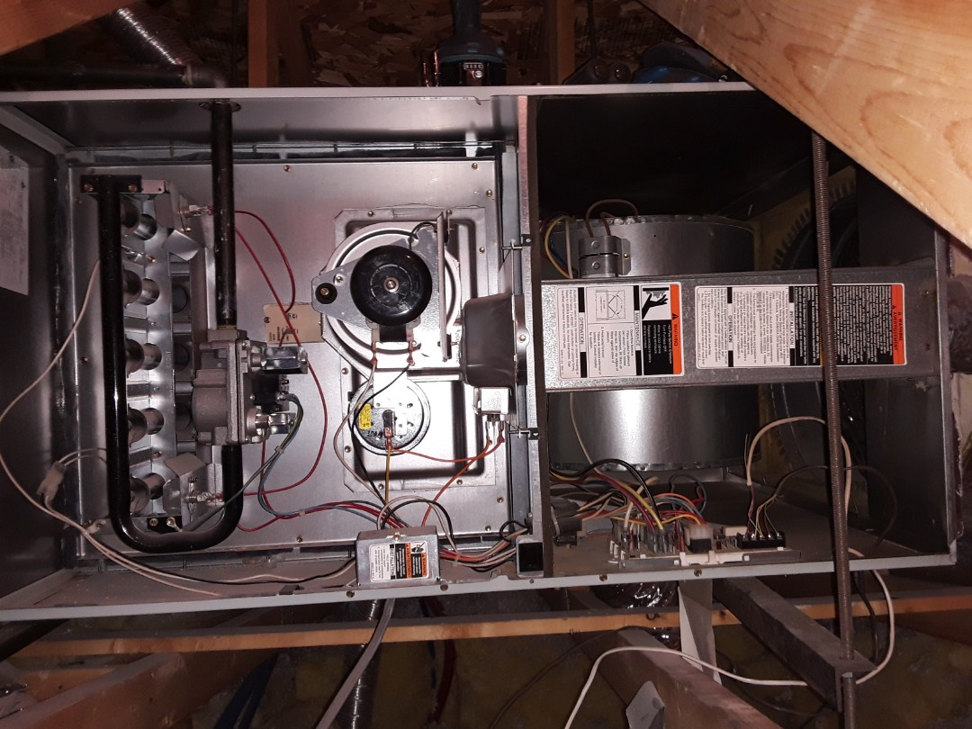 Henderson, NV - Carrier gas furnace heating tune-up