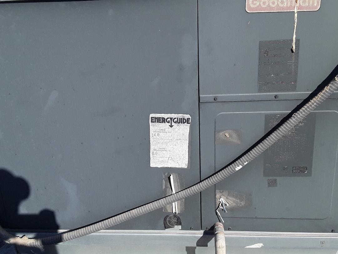 Henderson, NV - Performed heating tune up on rheem package heat pump