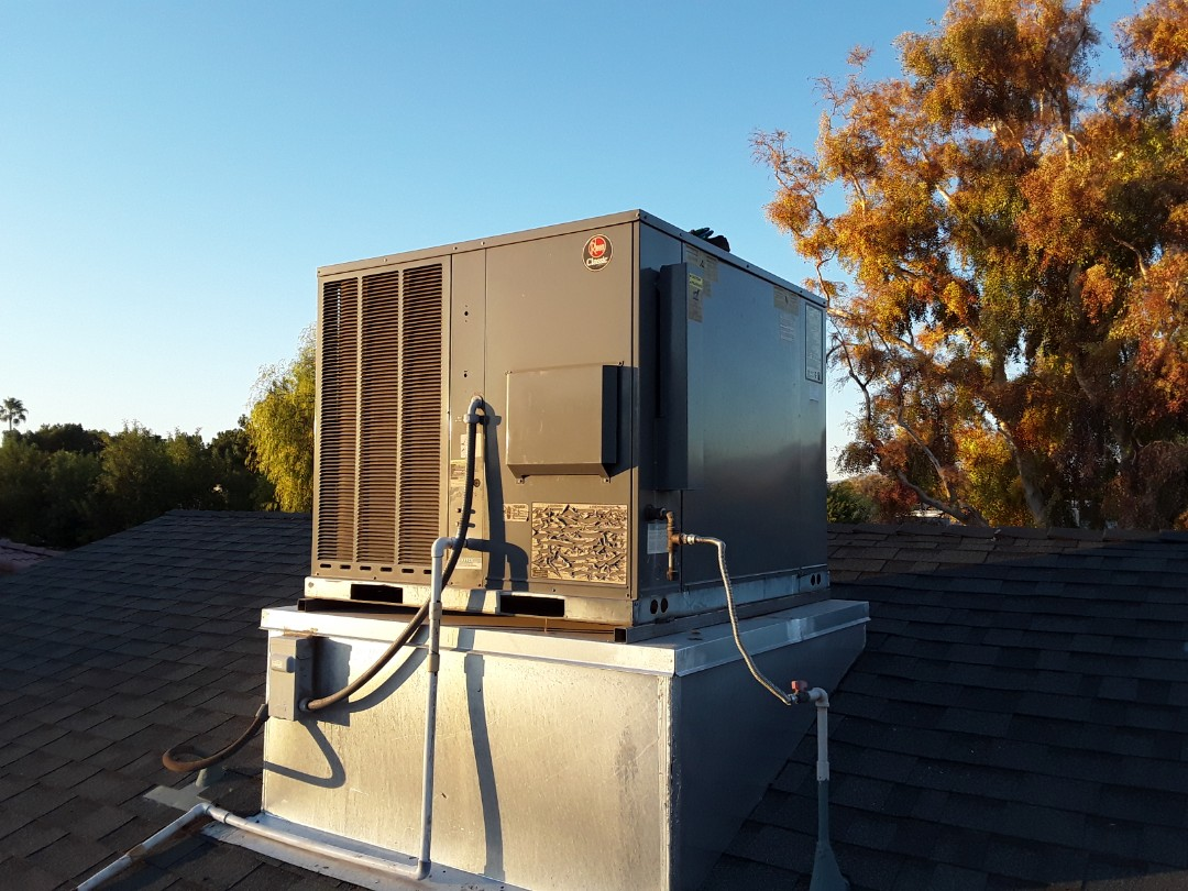 North Las Vegas, NV - Rheem gas package system heating tune-up in north las Vegas!