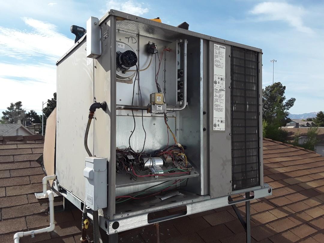 Las Vegas, NV - York gaspack heating tune-up!