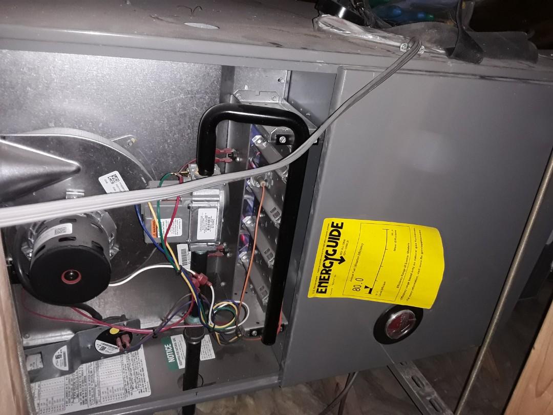 Las Vegas, NV - Rheem gas furnace heating tune-up