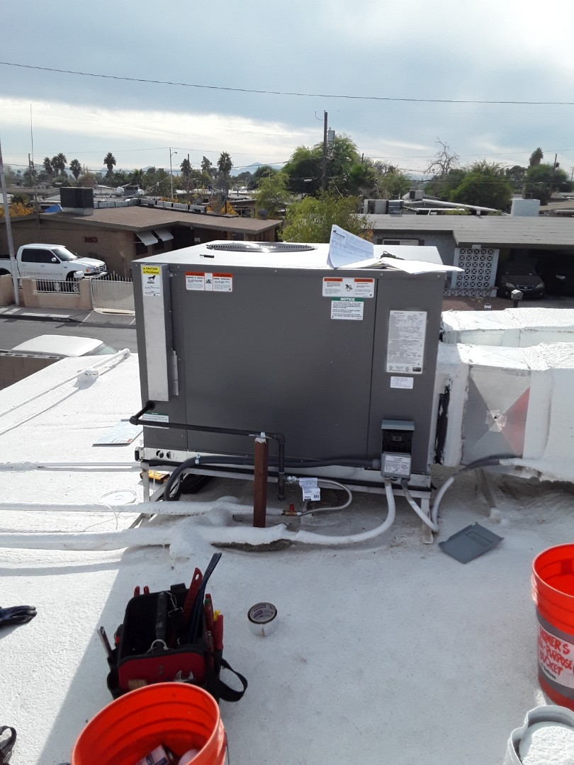 North Las Vegas, NV - New AC Rheem unit gas furnace