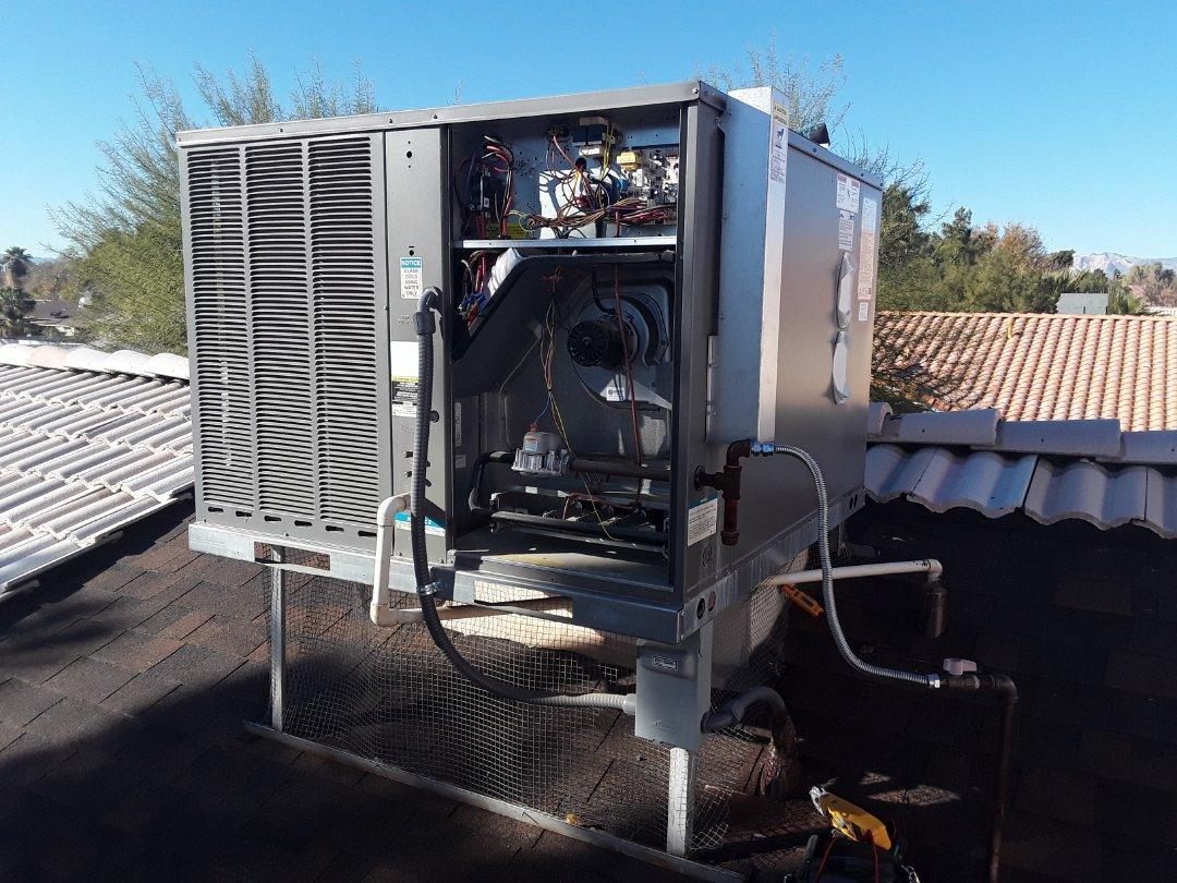 Las Vegas, NV - Rheem gaspack heating tune-up