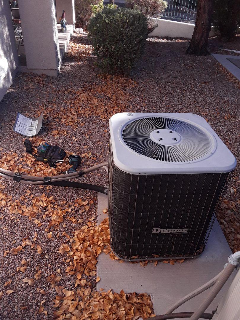 Las Vegas, NV - Ducane heat pump heating tune-up