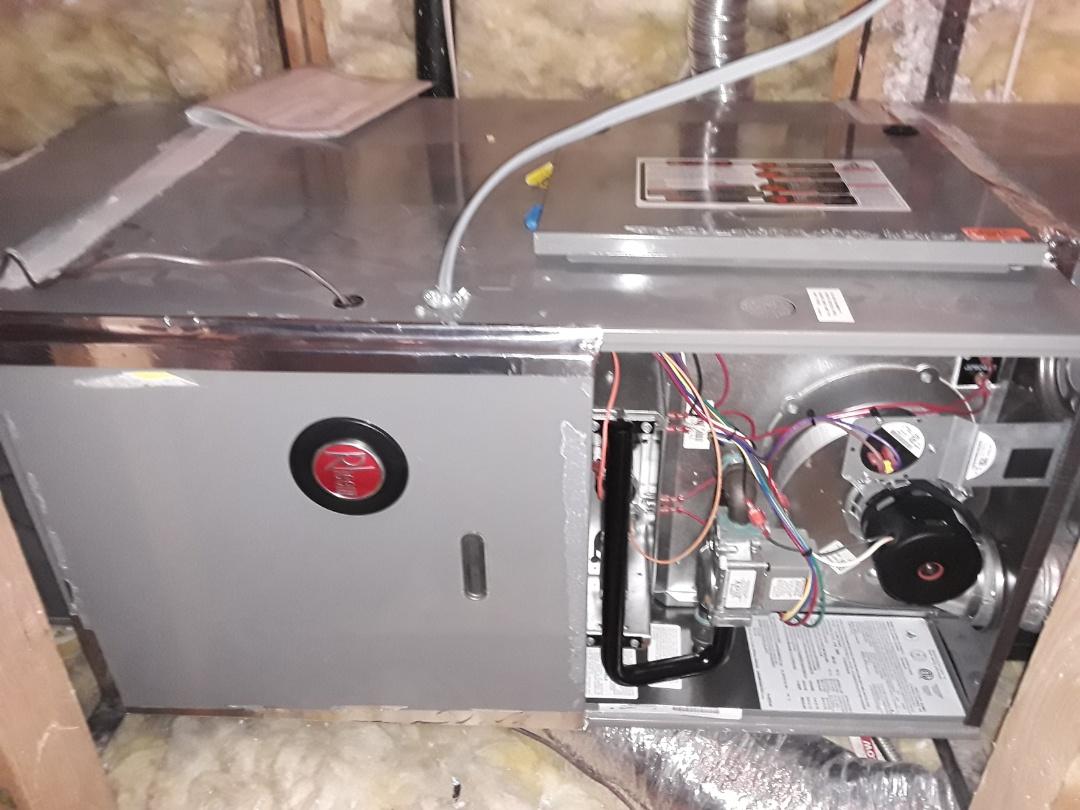 Henderson, NV - Rheem gas furnace heating tune-up and maintenance in Henderson!