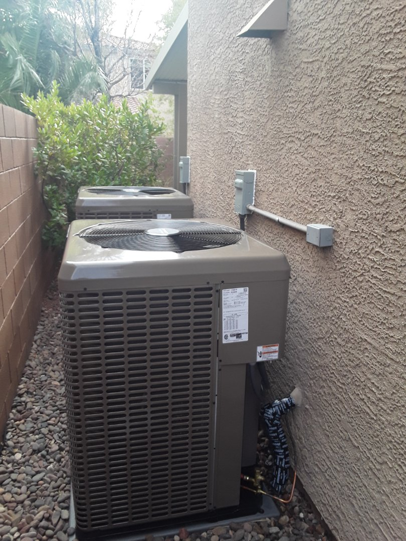 Las Vegas, NV - New systems replaced gas furnace and ac