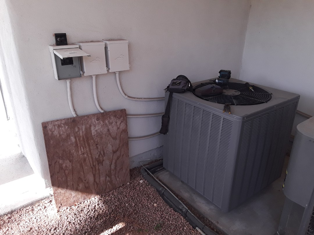 Las Vegas, NV - Rheem heat pump system  heating tune-up!