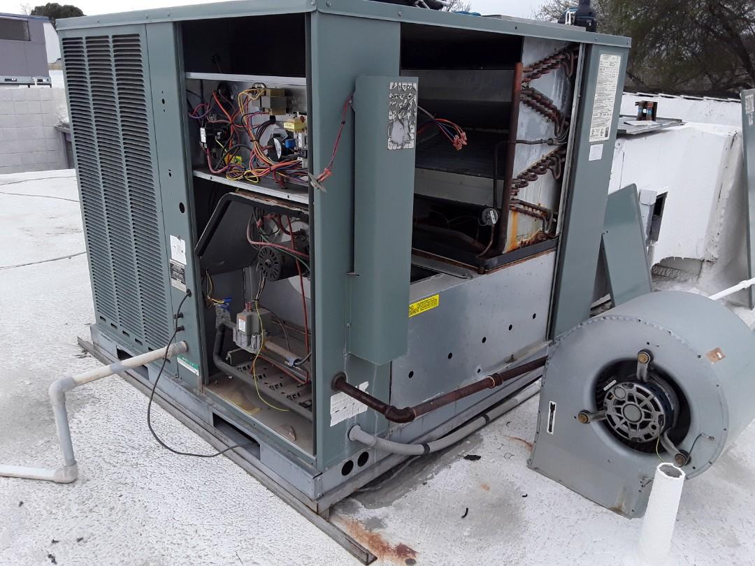 Las Vegas, NV - Rheem gaspack heating tune-up and maintenance!!