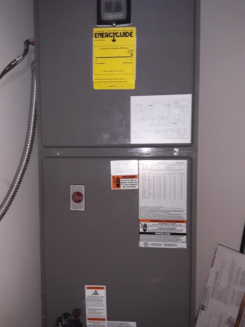 Las Vegas, NV - Rheem heat pump tune up and safety inspection