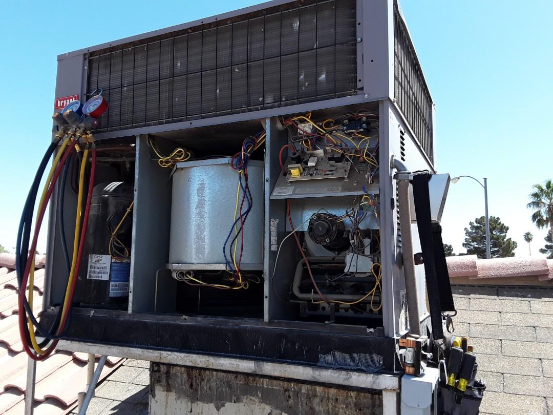 North Las Vegas, NV - Bryant gas package AC repair and North Las Vegas