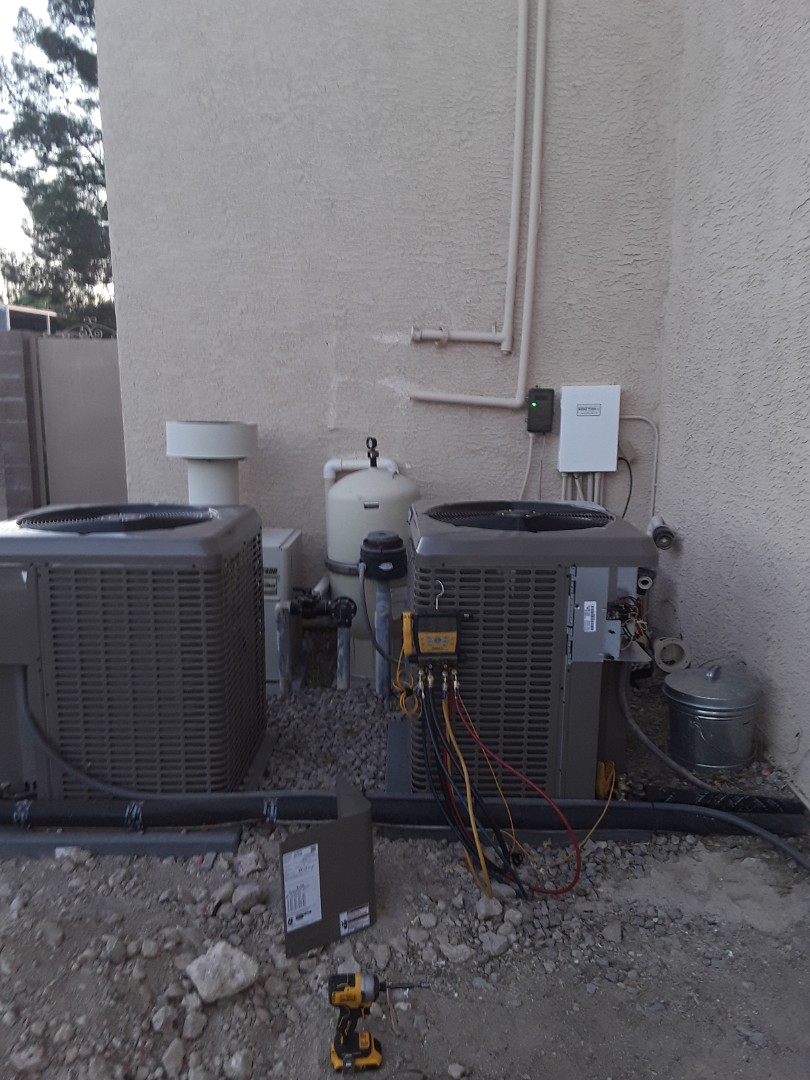 Henderson, NV - 2 new systems York units