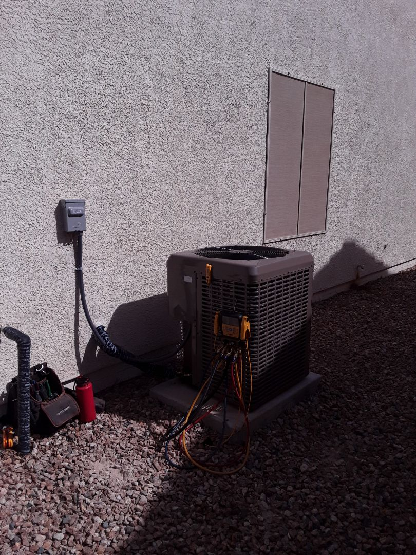 North Las Vegas, NV - New system installation York unit and furnace