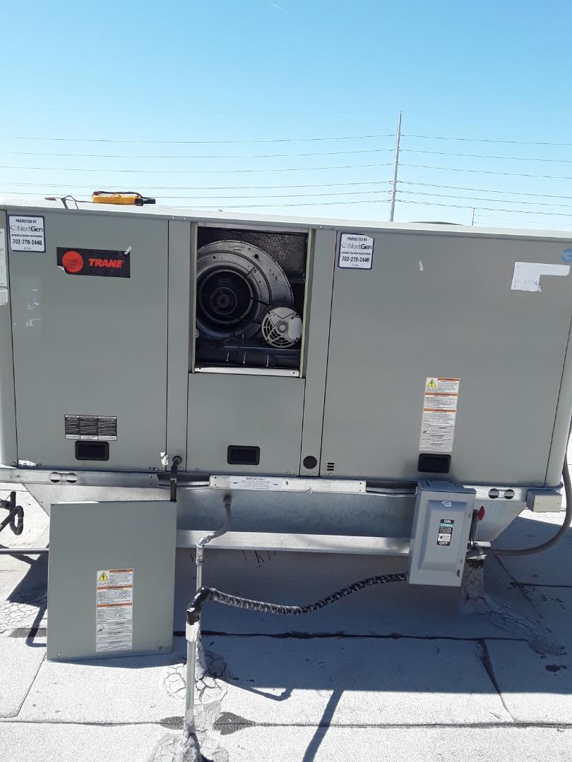 Las Vegas, NV - System maintenance Trane unit and safety inspection