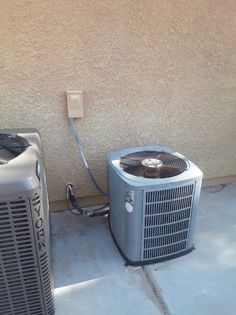 Las Vegas, NV - Replaced old AC and airhandler
