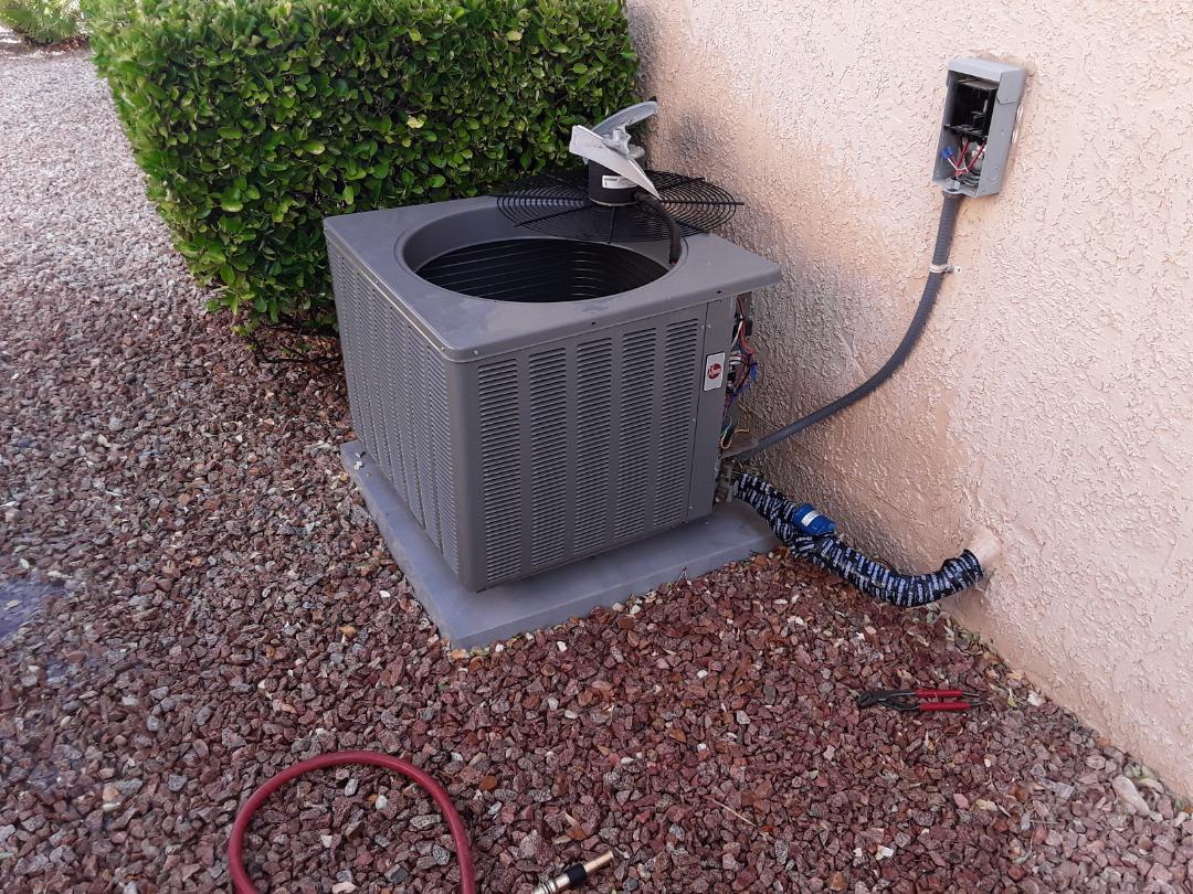 Las Vegas, NV - Rheem ac tune up service Maintenance Cleaning and Las Vegas Sun City Summerlin