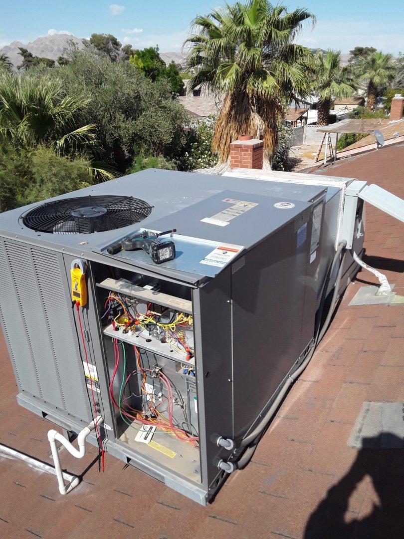 Las Vegas, NV - Rheem system repair heat  pump