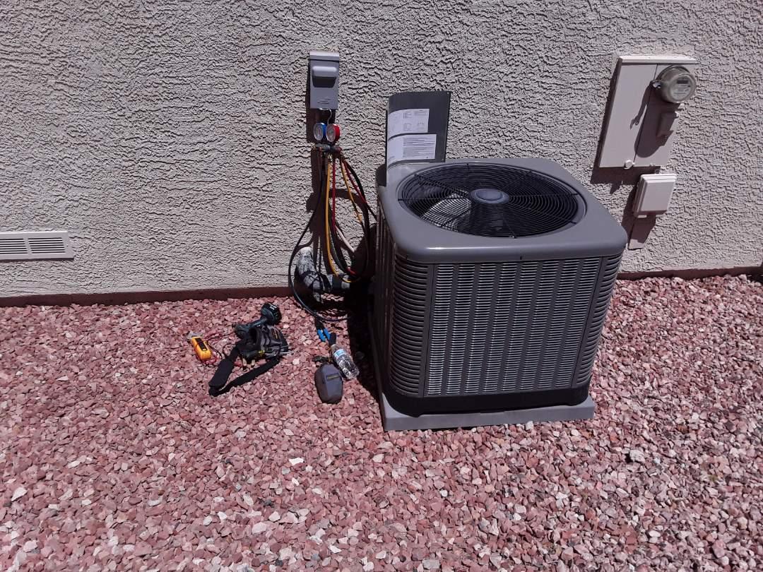 Henderson, NV - Rheem ac system tune-up maintenance service in Henderson
