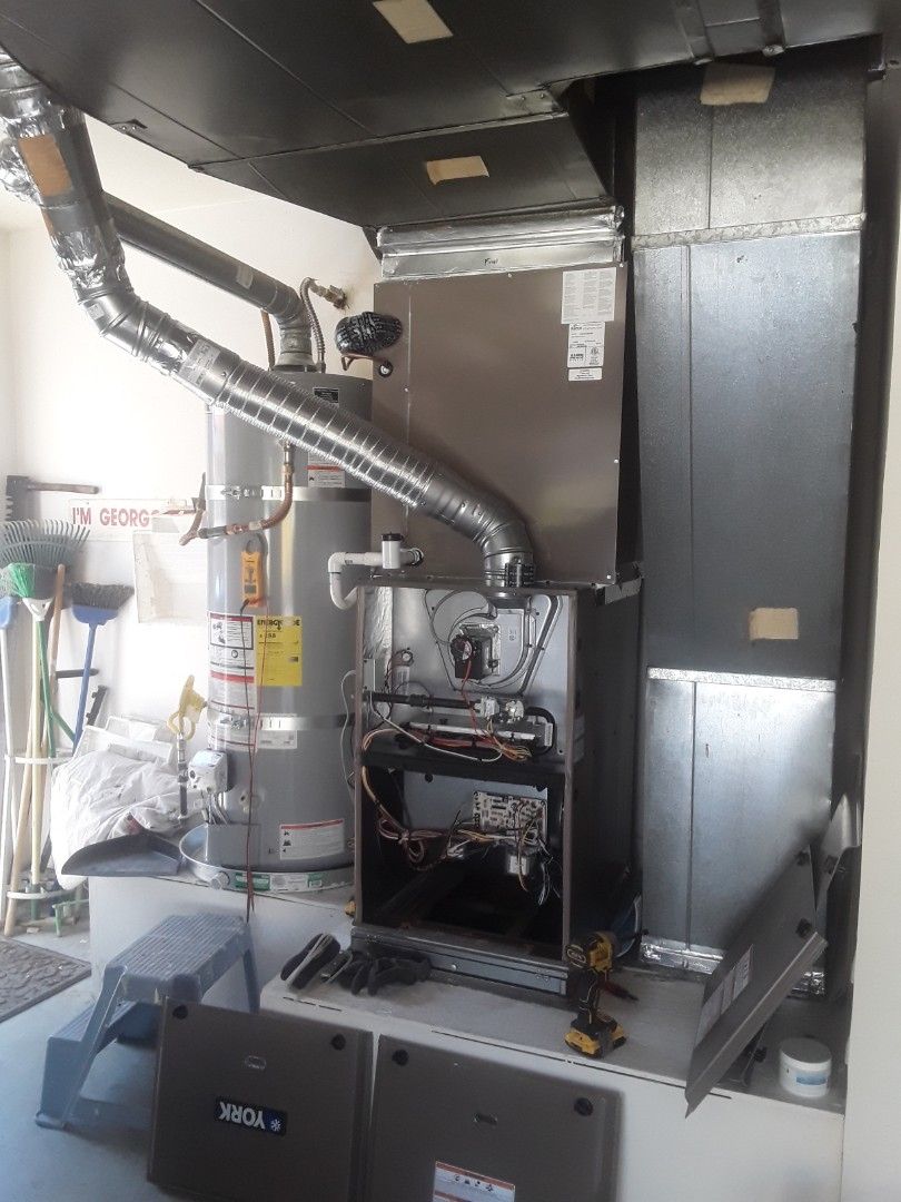 Las Vegas, NV - According and furnace replacement York unit