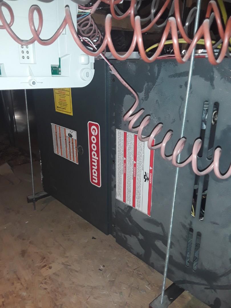 Las Vegas, NV - AC repair and safety inspection Goodman unit