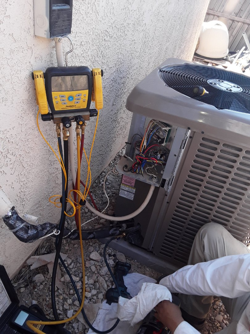 Las Vegas, NV - York system Leak repair and safety inspection