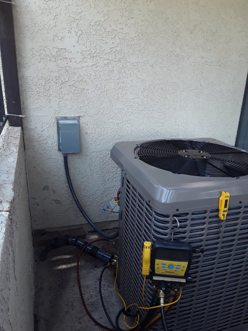 Henderson, NV - AC and furnace replacement York unit